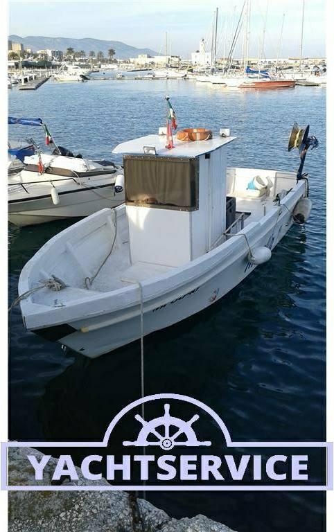 Cantiere-navale-d-abruzzo Barca da pesca con licenza 1 gt - Fotos Exterior 1