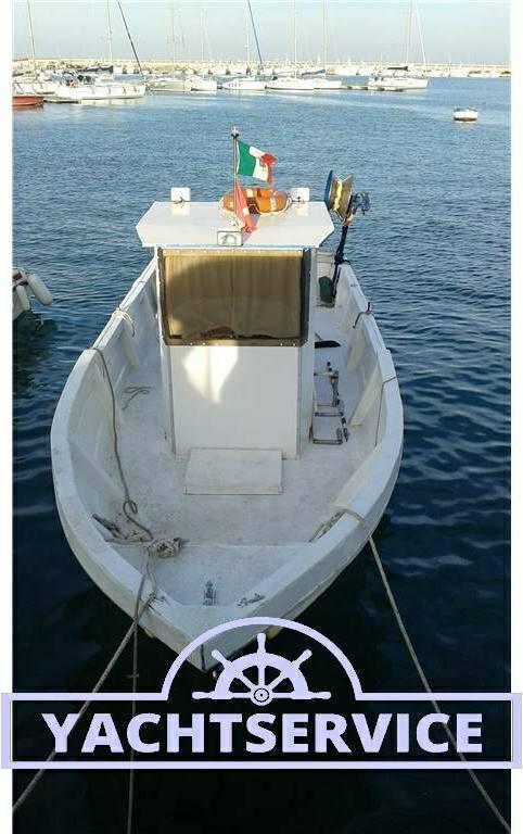 Cantiere-navale-d-abruzzo Barca da pesca con licenza 1 gt - Fotos Exterior 2