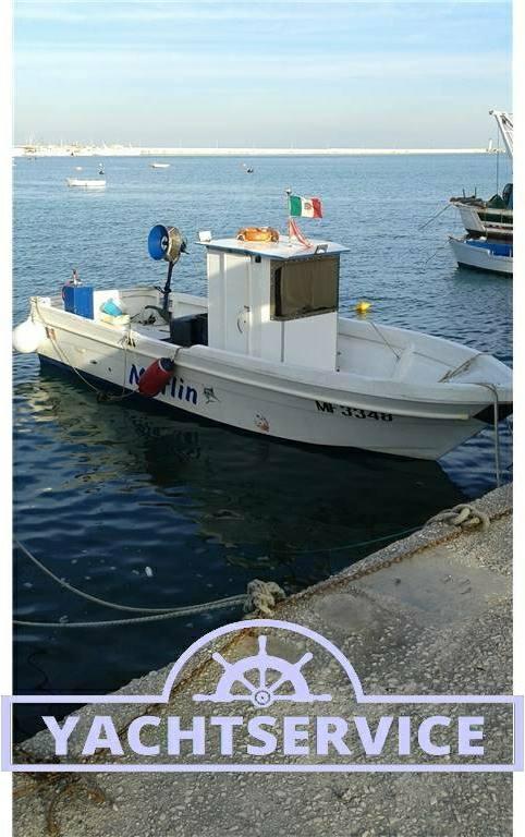 Cantiere-navale-d-abruzzo Barca da pesca con licenza 1 gt - Fotos Exterior 3