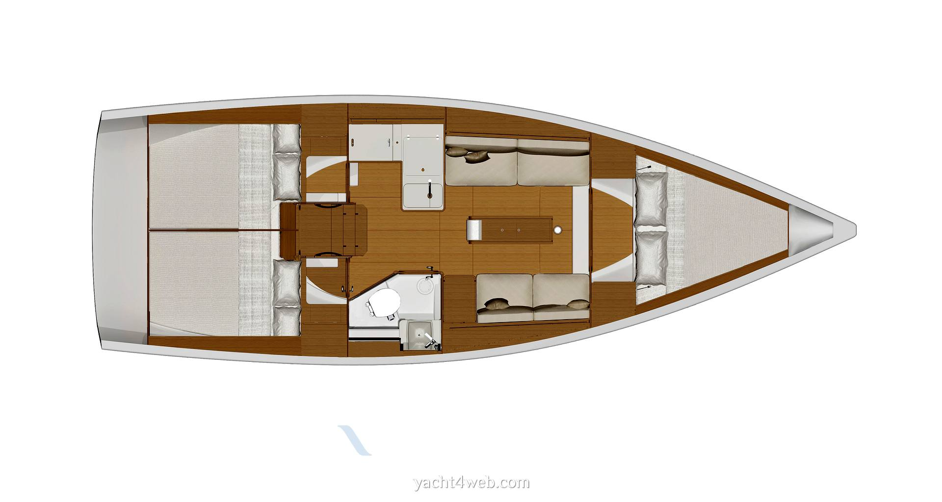 Dufour Yachts 360 grand large usado