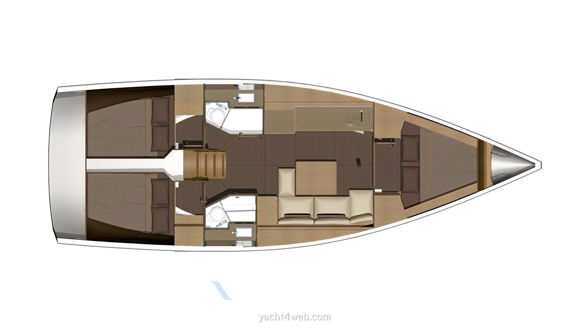 Dufour Yachts 382 grand large 2018