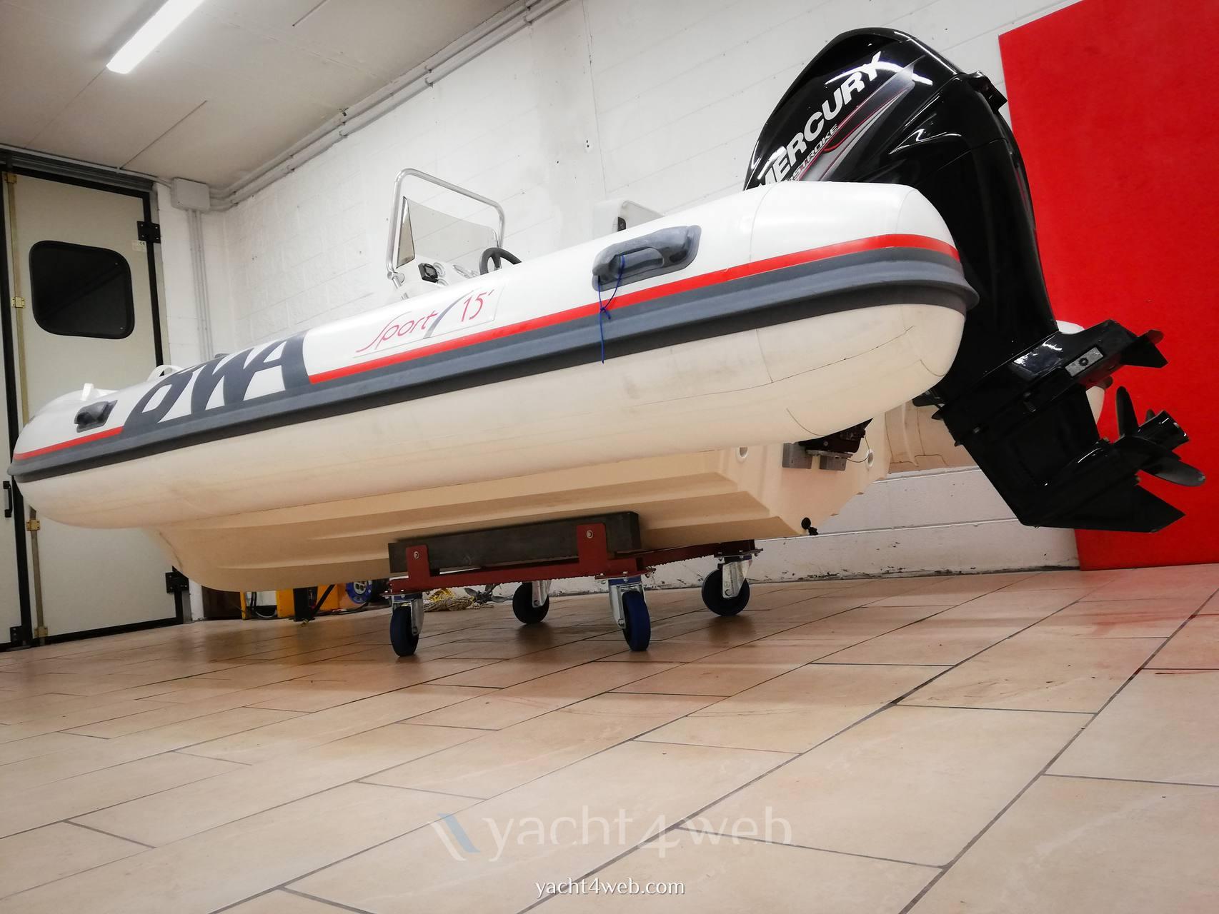 BWA 15 sport Barca a motore usata in vendita