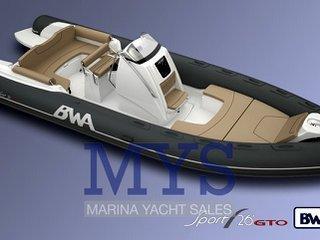 Bwa nautica 26 gto sport special edition new