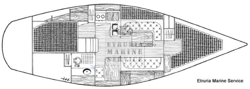 Beneteau Idylle 11.50 - Photo Drawing 1