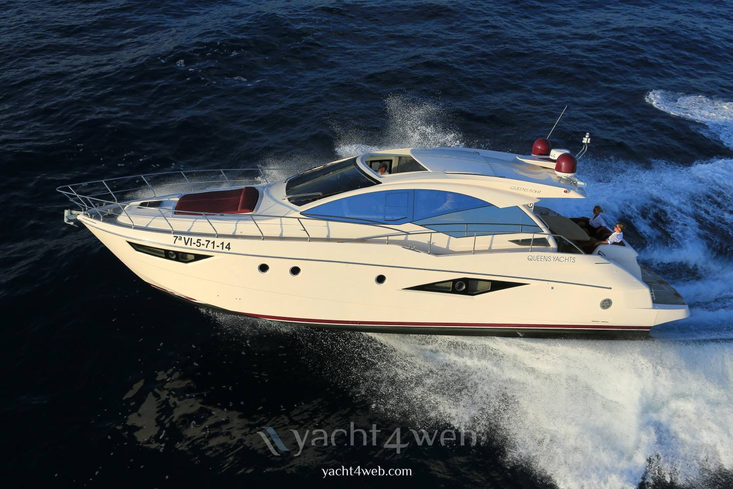 Queens yachts Queens 50 hard top new 硬顶 使用