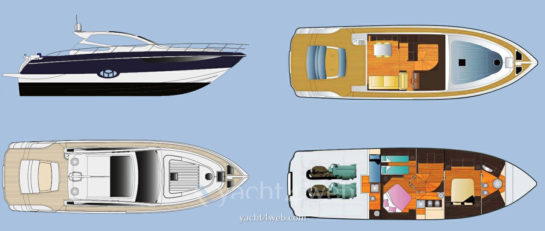 BLU MARTIN S.t. 58 Motor Yacht Planante