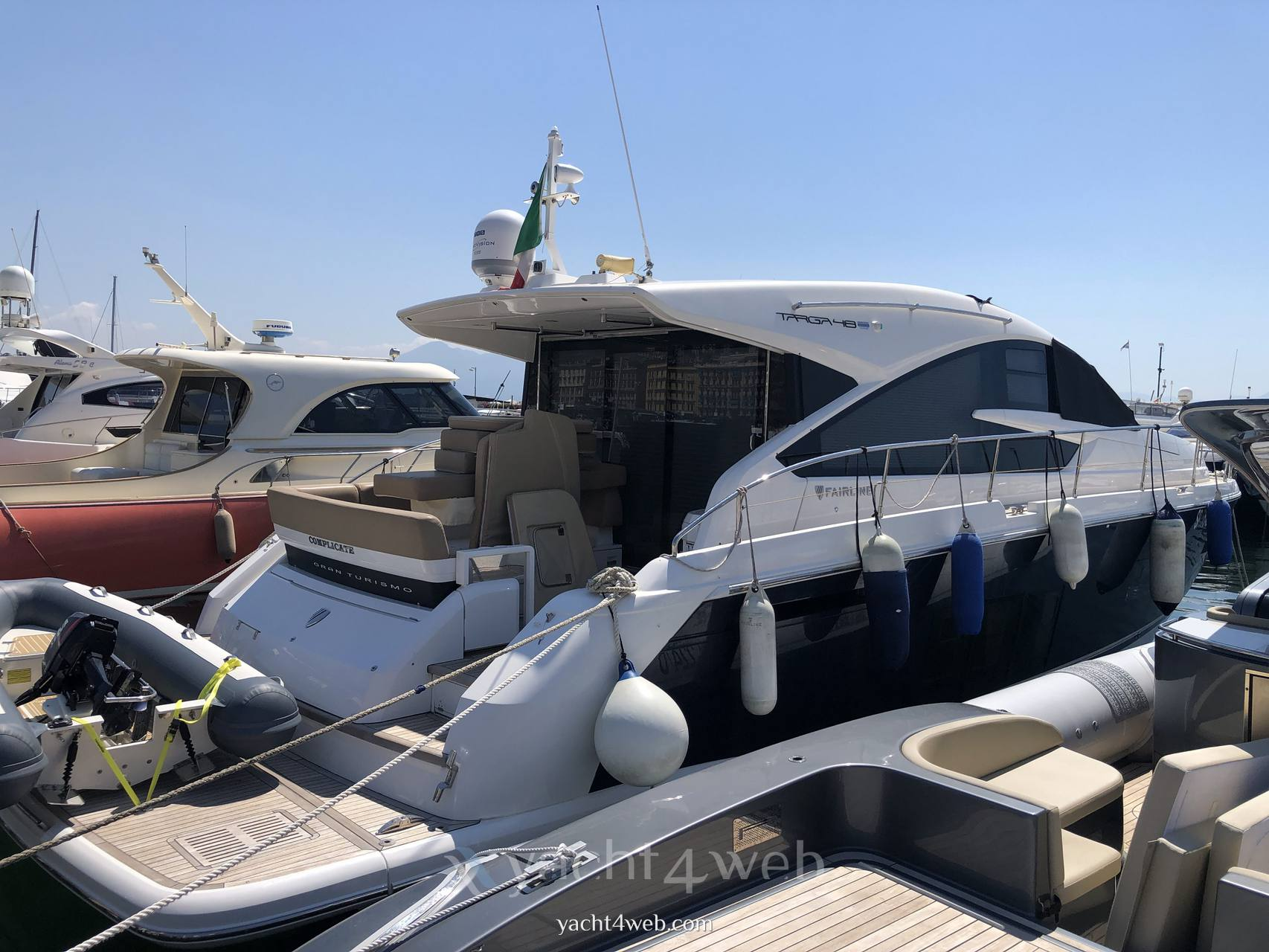 FAIRLINE Targa 48 gt Tapa dura