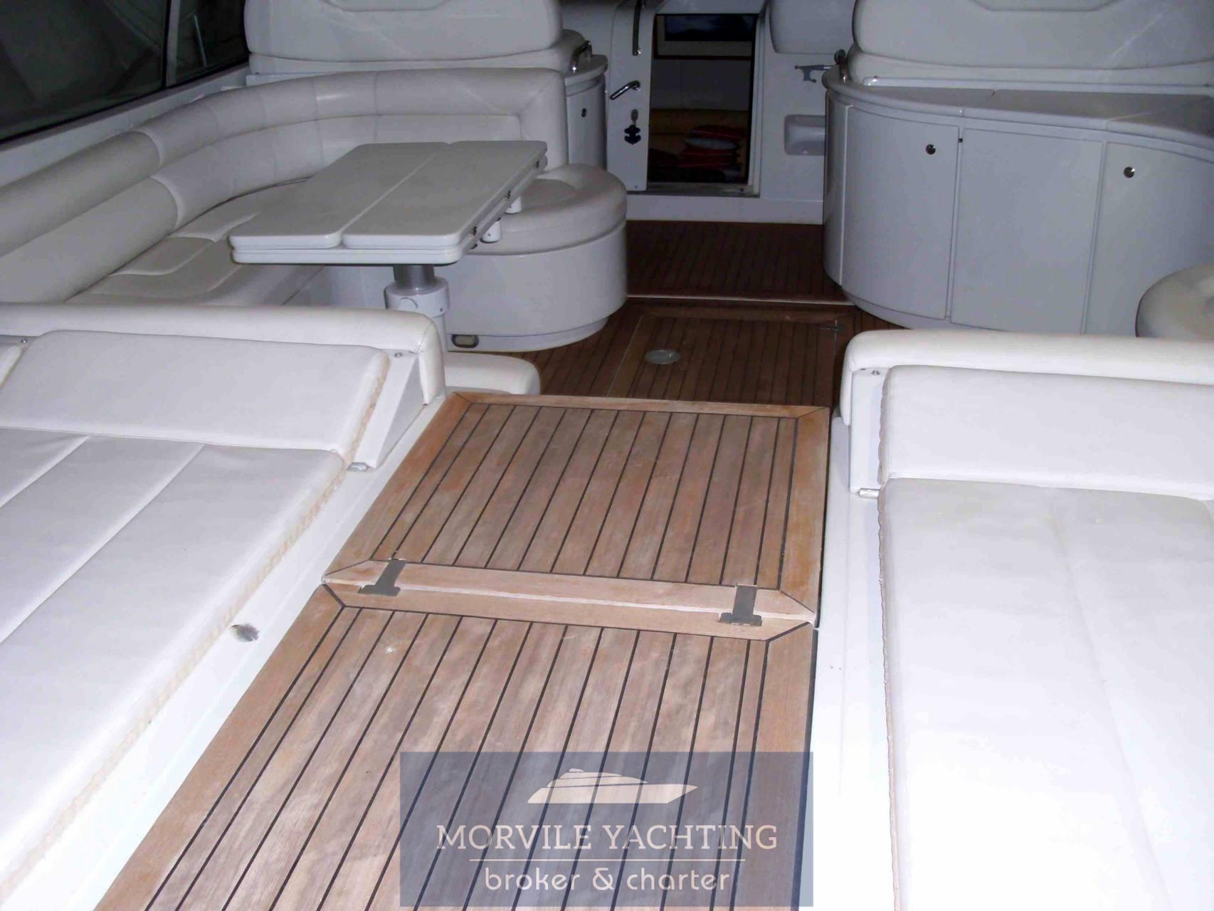 Pershing 54 motor boat