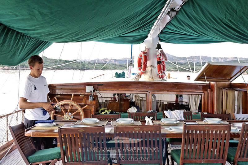 HANDE Caicco barca a vela