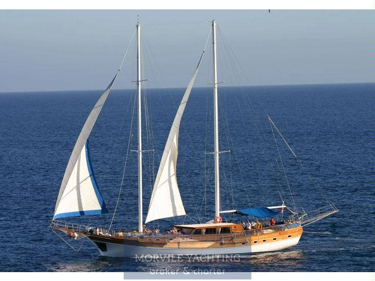 HANDE Caicco Barca a vela charter