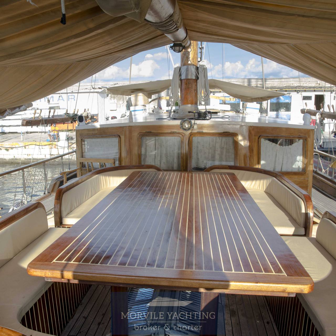 MY BUBU Caicco Barca a vela charter