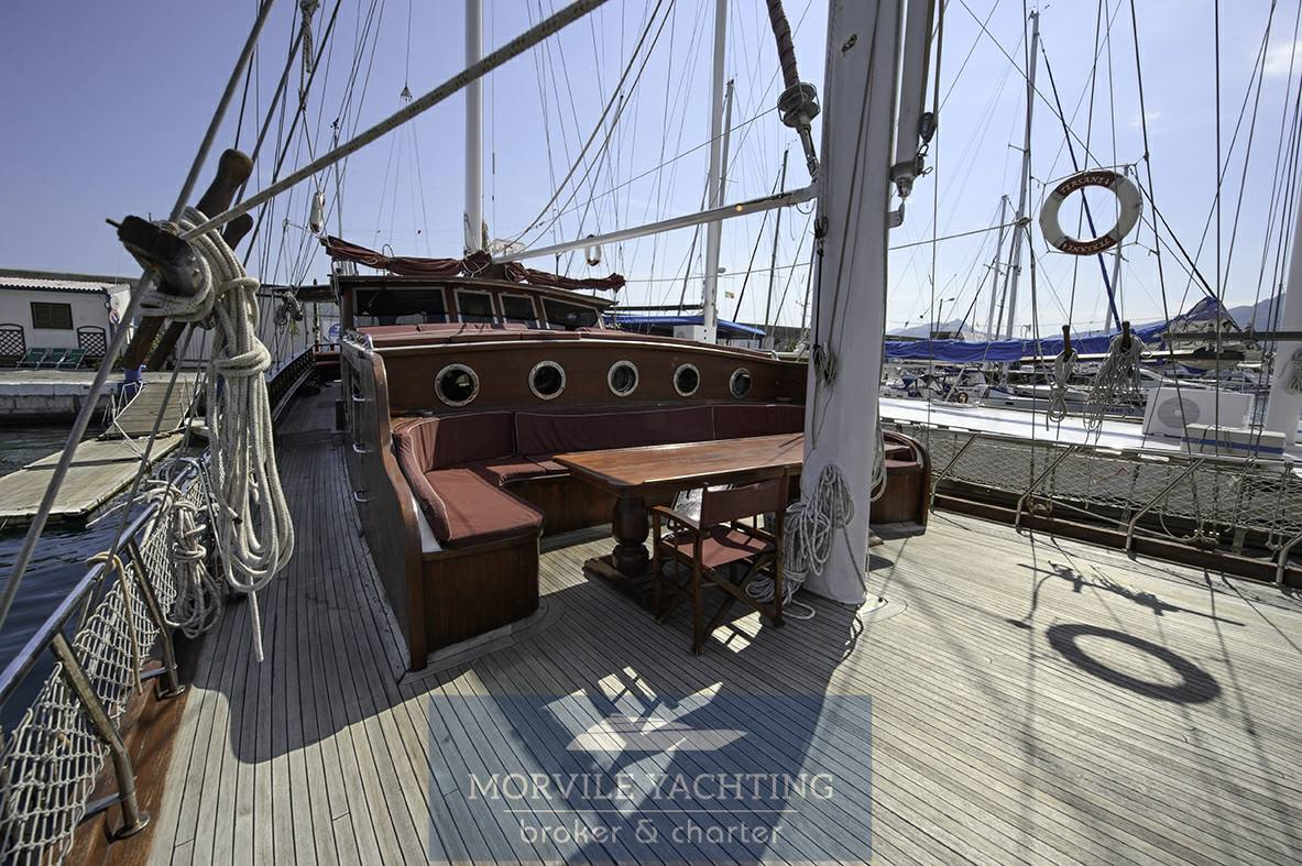 TERSANE Caicco sailing boat