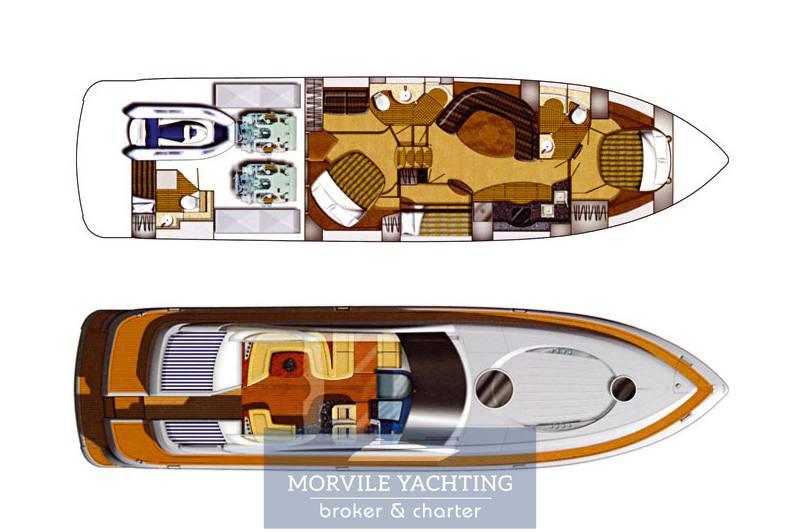 Fairline 62 Motorboot gebraucht zum Verkauf