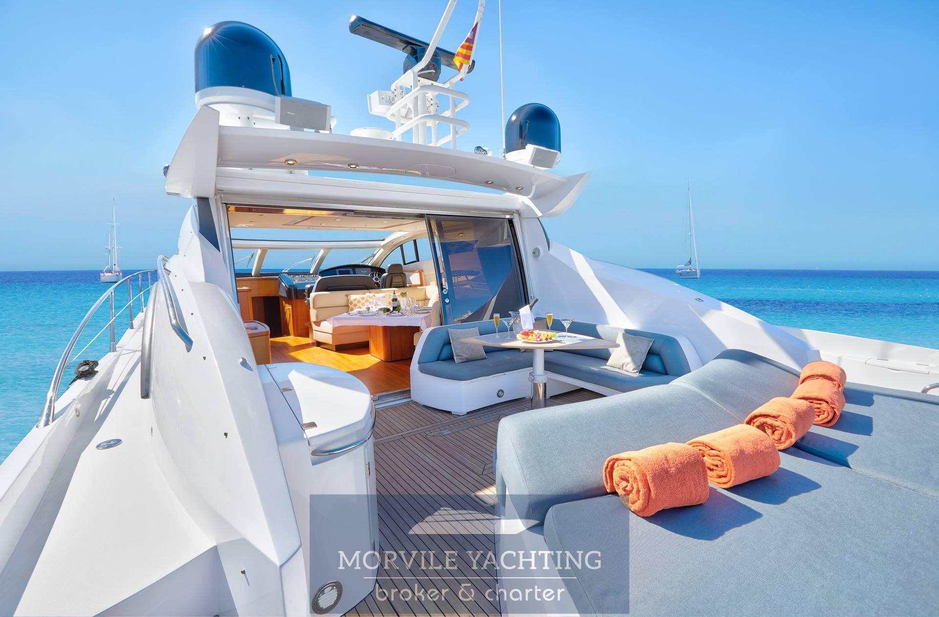 Sunseeker Yachts Predator 72 Hard top
