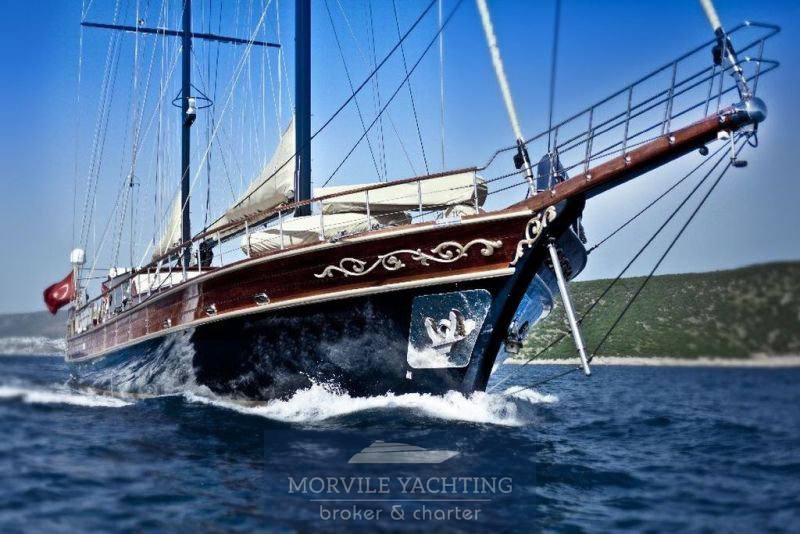 Bodrum Gulet Motor boat used for sale