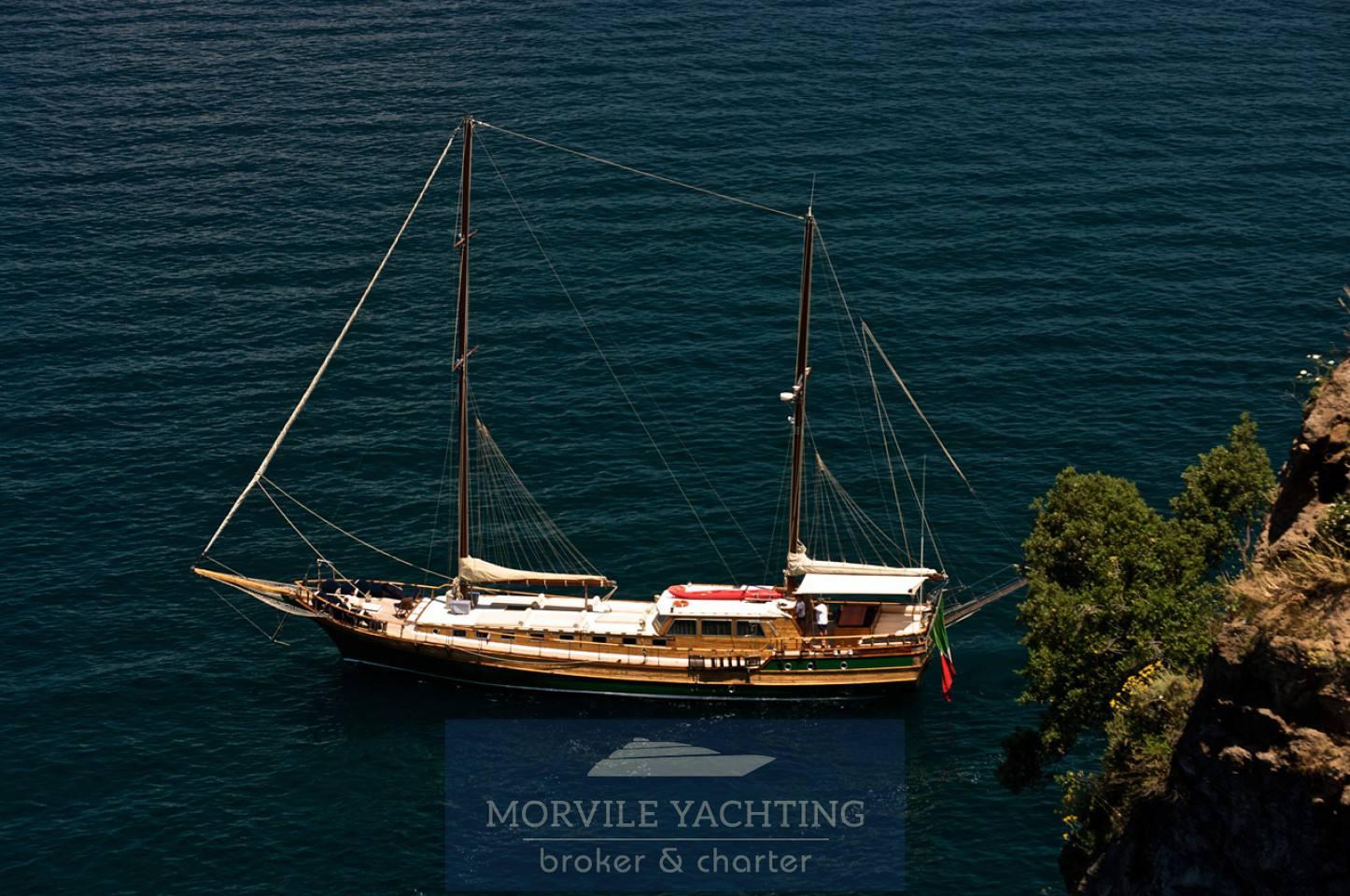 Maria Giovanna Caicco turco Barca a vela charter