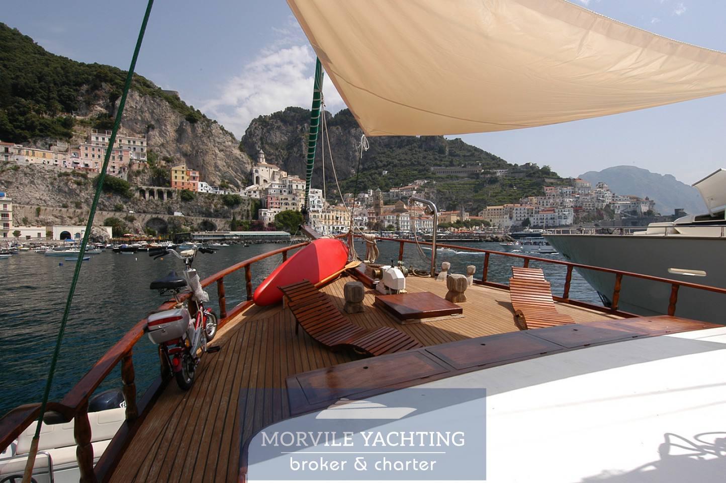 Maria Giovanna Caicco turco barca a vela