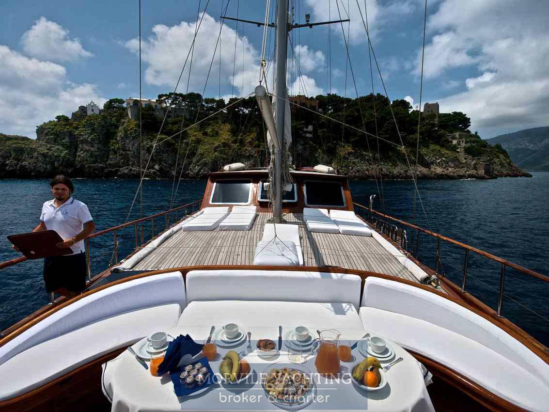 Silver Star II Mazarin 72 Gulet charter