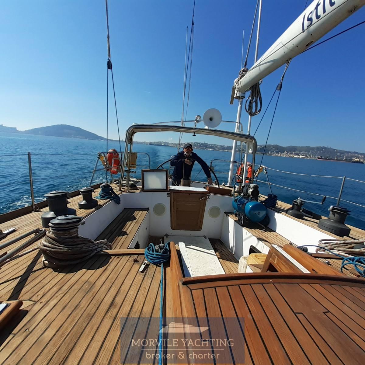 Cantieri di Pisa Nelson 67 Barco de vela carta