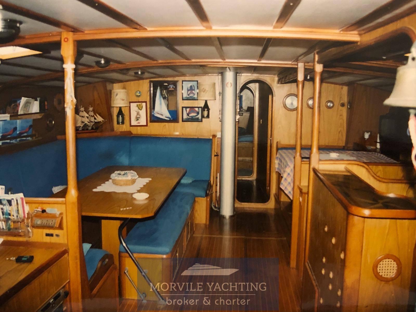 Cantieri di Pisa Nelson 67 Vela Crucero carta