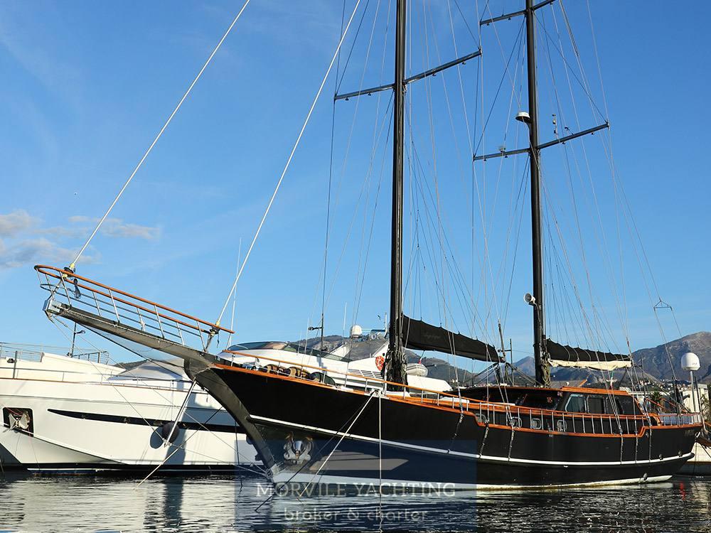 Angelique Caicco Barca a vela charter