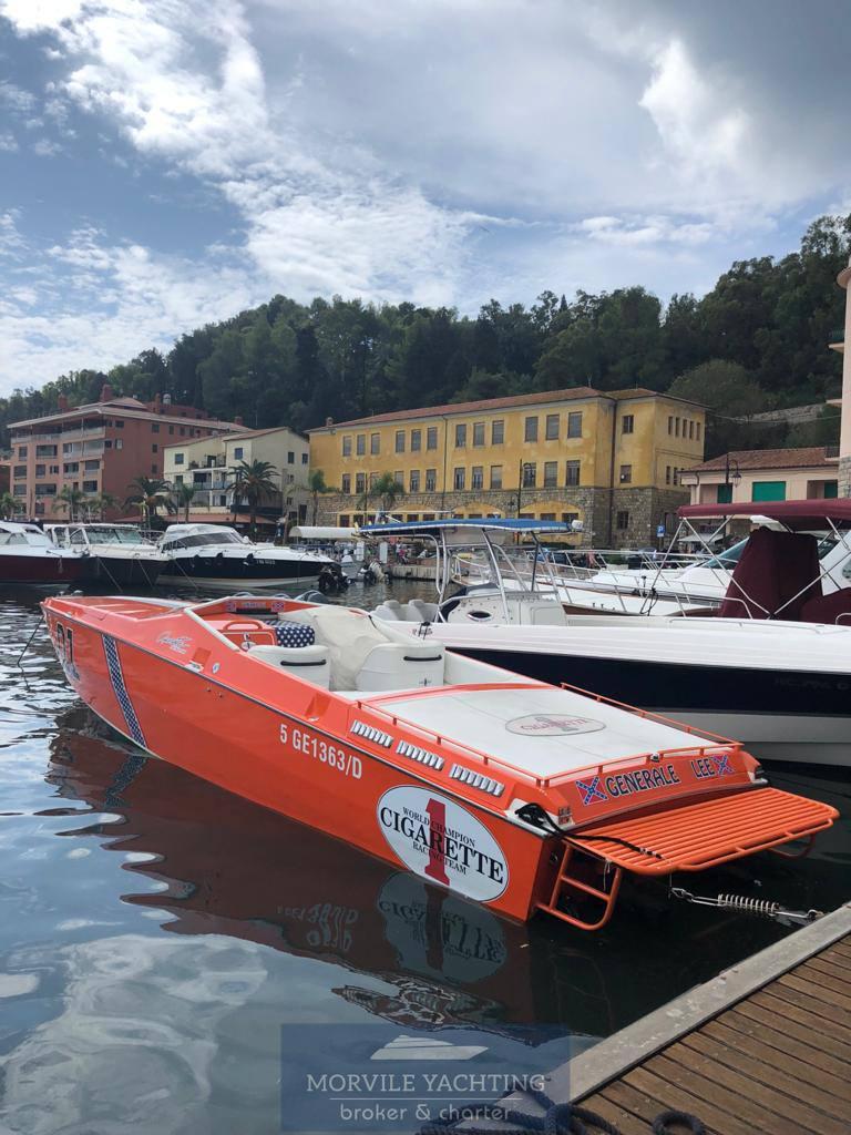 CIGARETTE Cafe racer 35 used