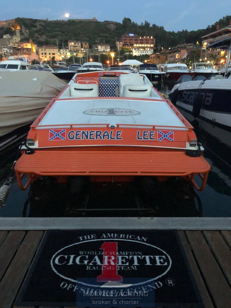 CIGARETTE Cafe racer 35 0