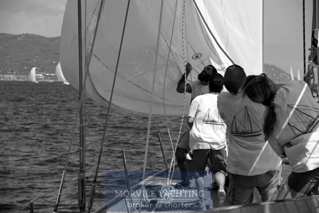 Sangermani Magdalus secondo sailing boat