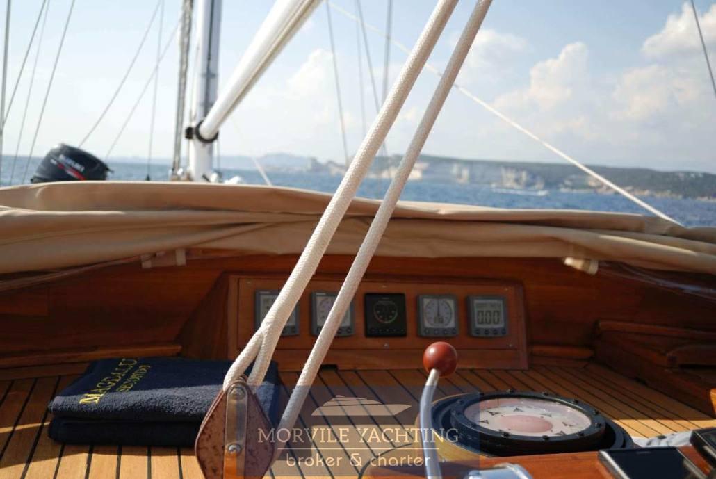 Sangermani Magdalus secondo Sailing boat charter