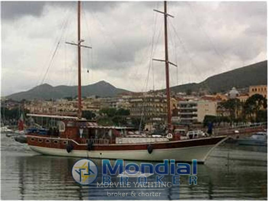 Caicco-ali-djen Turchia barca a vela