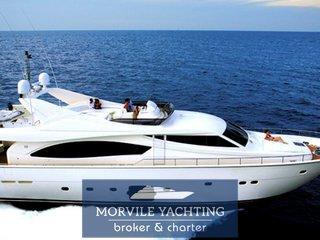 Ferretti Yachts 881 rph CHARTER