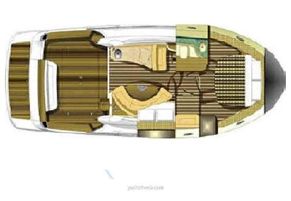 Sessa marine Dorado 32 fly Motor boat used for sale