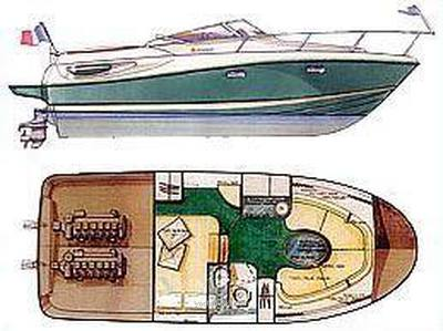 Jeanneau Leader 805 Motor boat used for sale