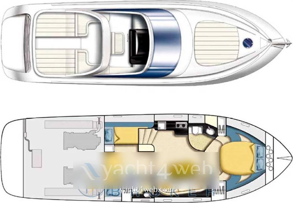 Cantieri di sarnico Sarnico 43 Barca a motore usata in vendita