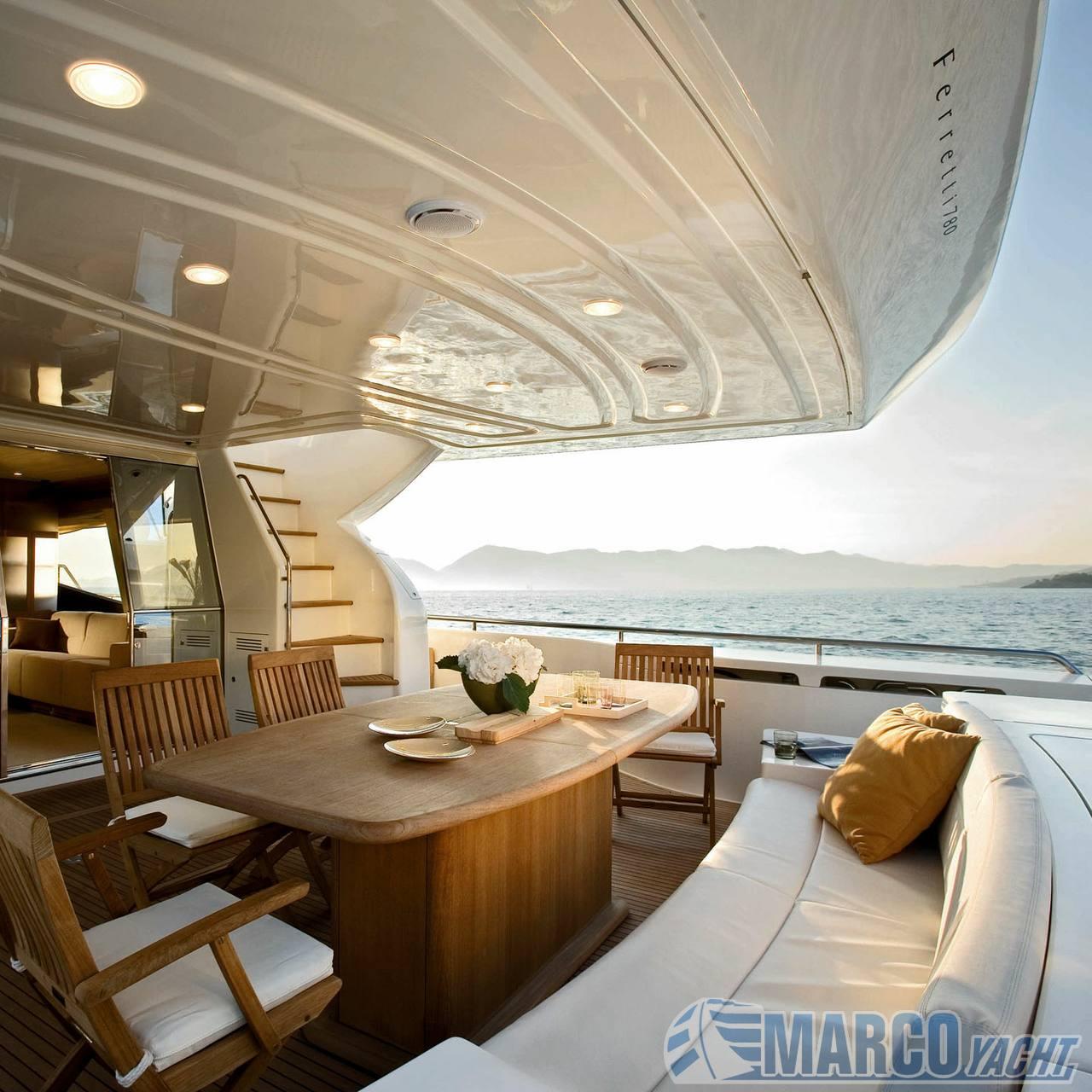 Charter - ferretti 780