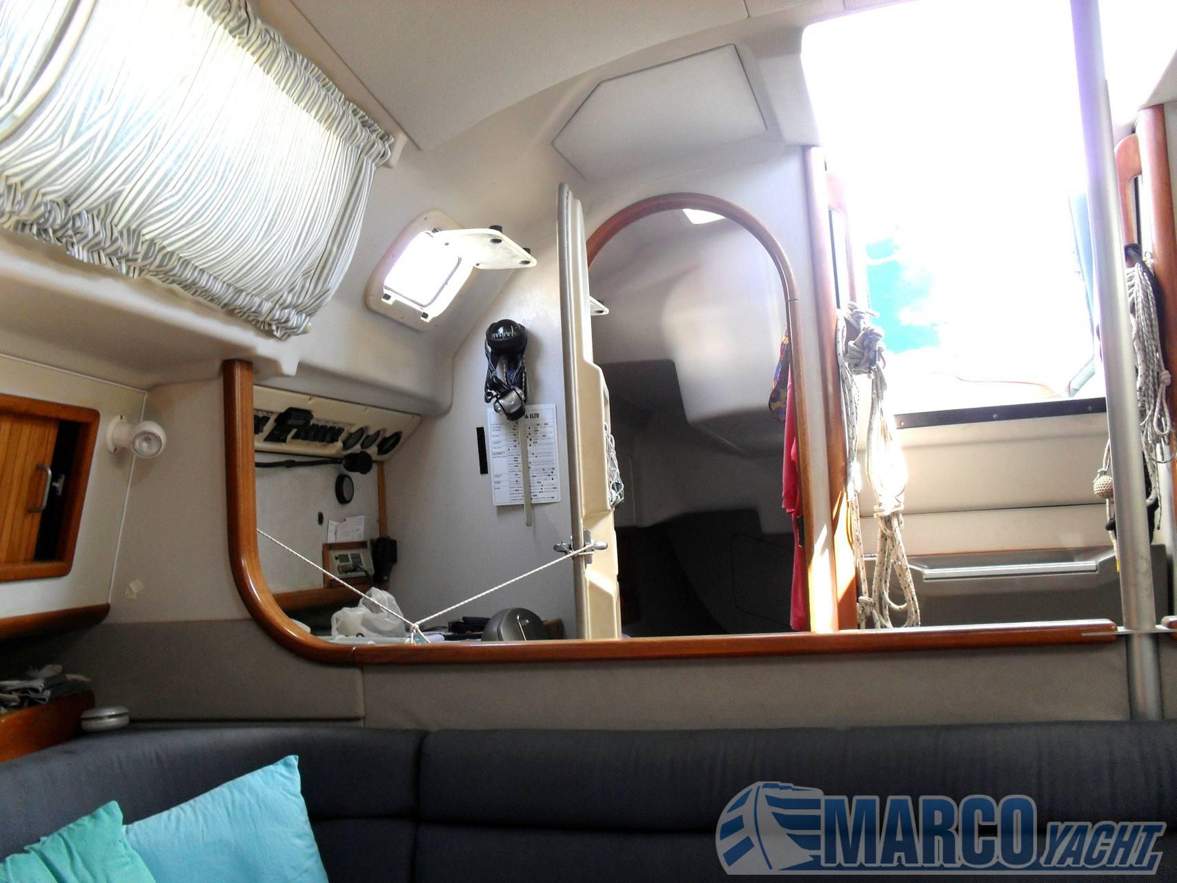 Dehler 36 cws sailing boat
