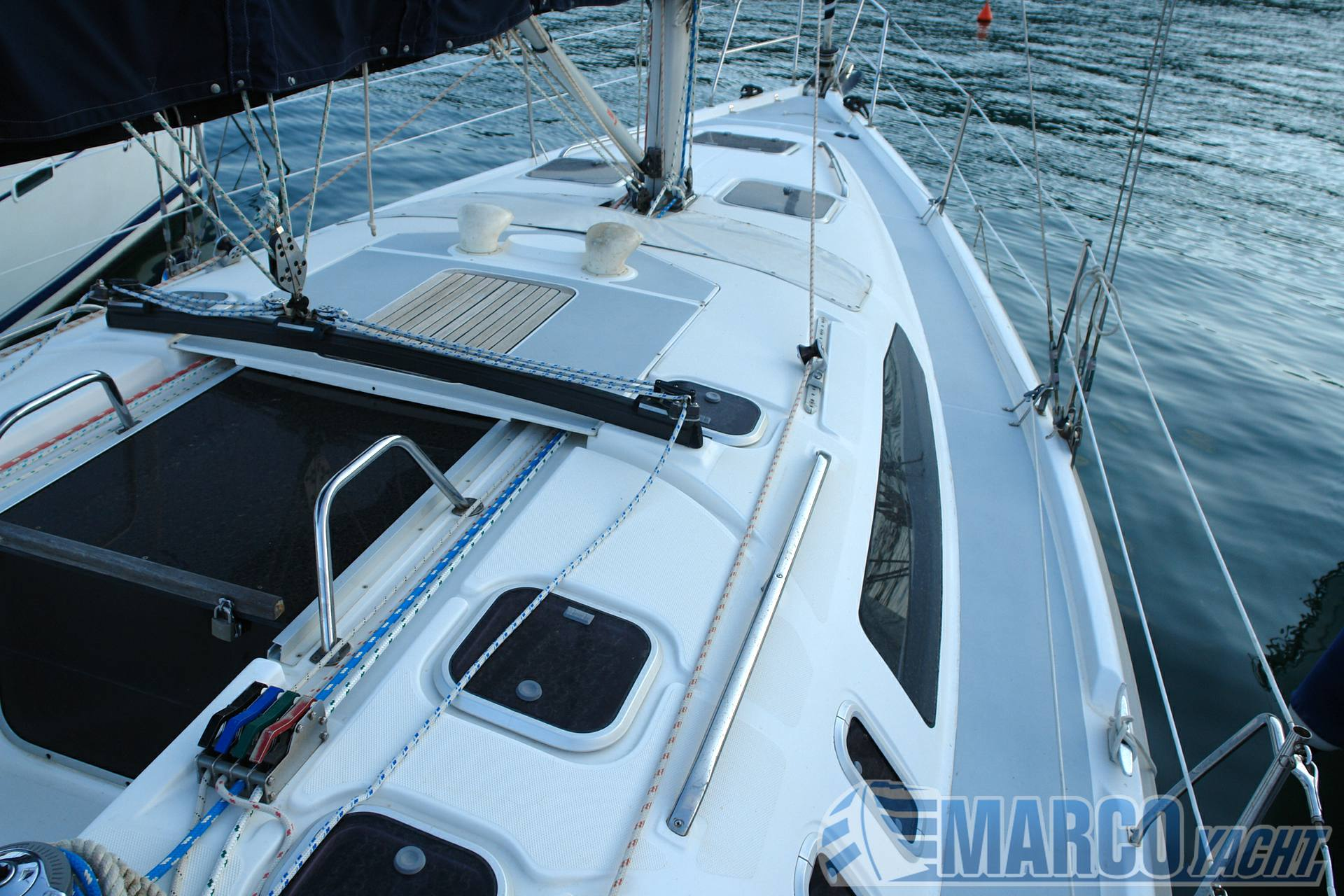 Hunter 376 Cruzador de vela