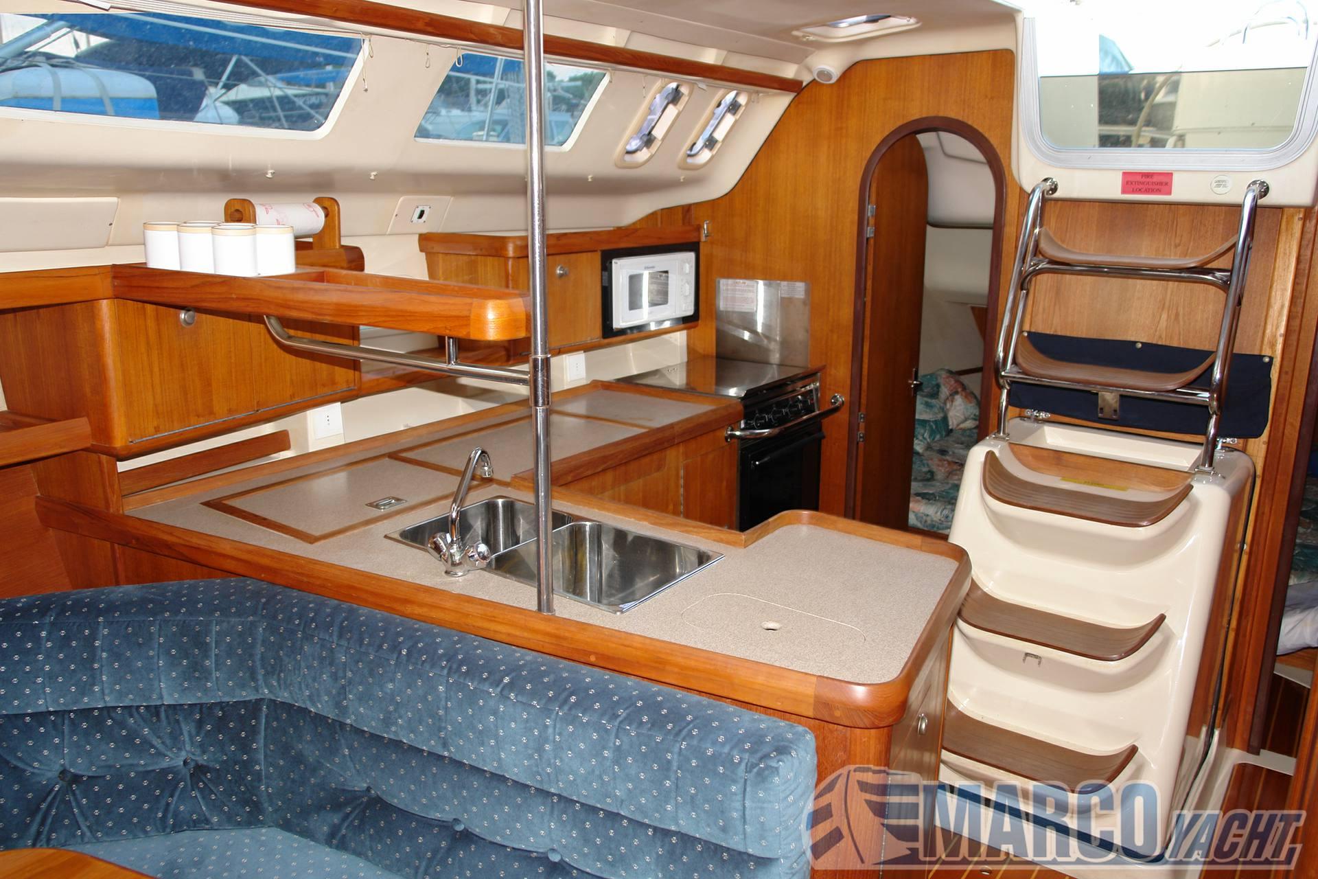 Hunter 376 Cruzador de vela usado