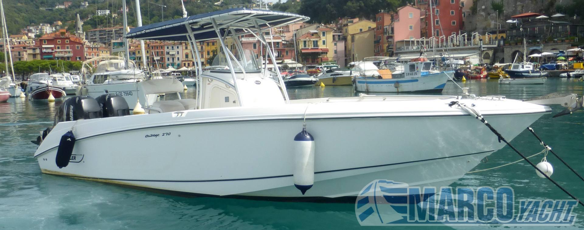 Boston whaler Outrage 270 Barco de motor usado para venta