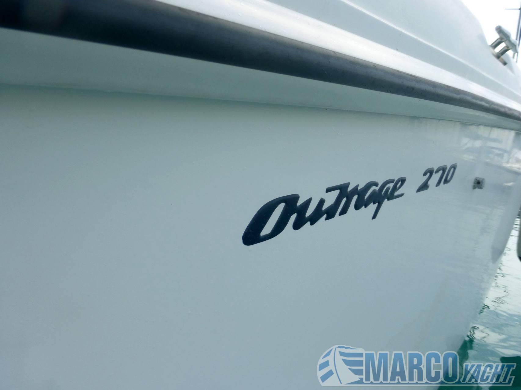 Boston whaler Outrage 270 usado