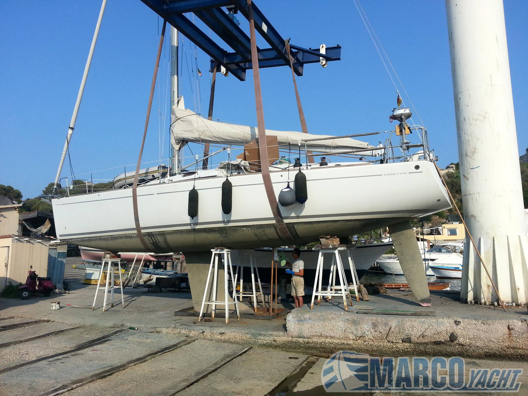 Comar Comet 41s Sailing boat used for sale