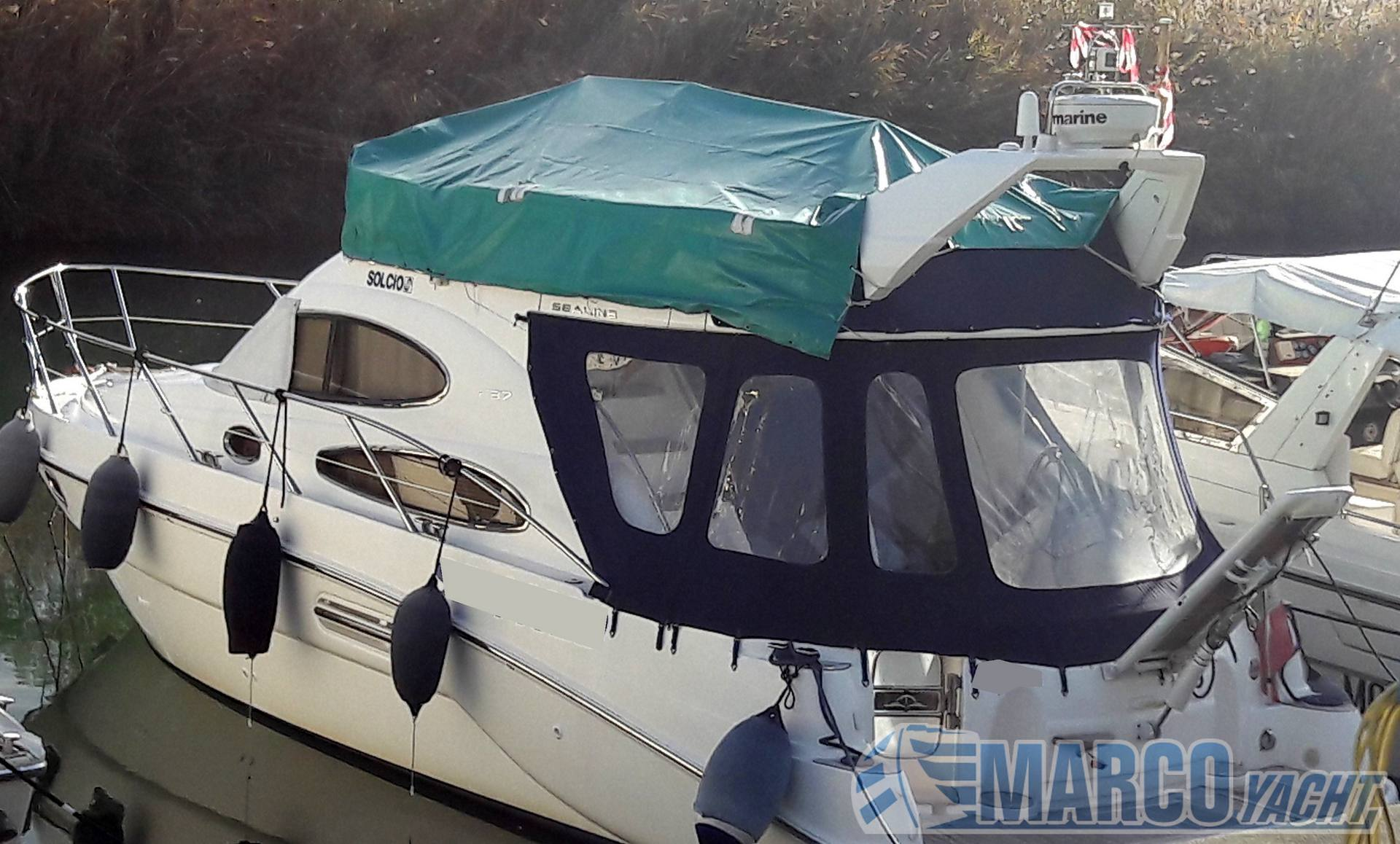Sealine Fl 37 fly Barca a motore usata in vendita