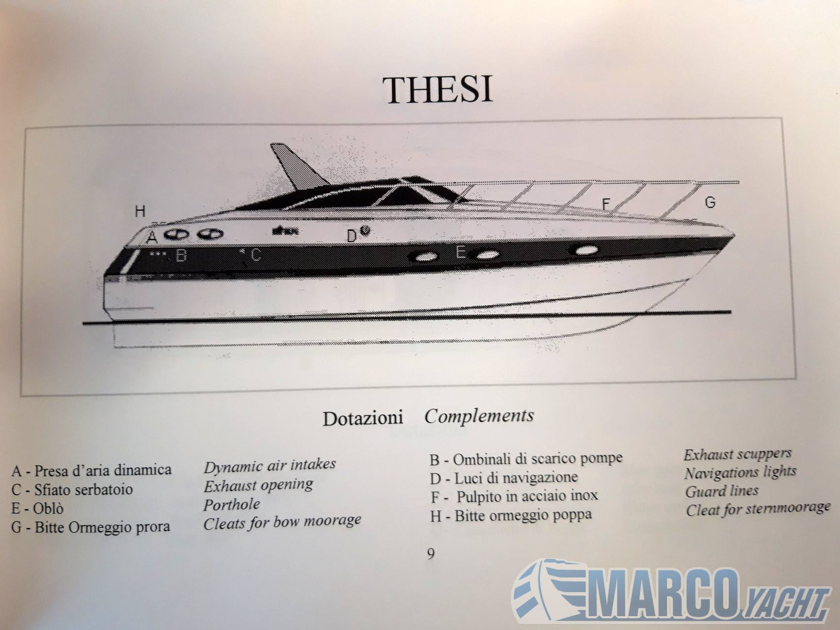 Ilver Thesi 32 Day cruiser used