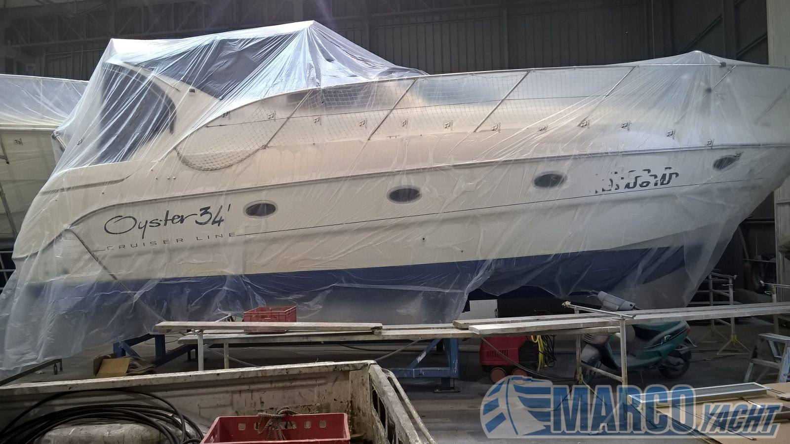 """SESSA Oyster 34"""" Motor boat used for sale"""