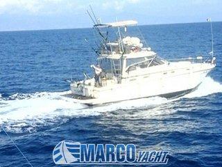 Cayman Yachts Tuna tower walk around