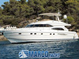 Marine project Princess 65 fly