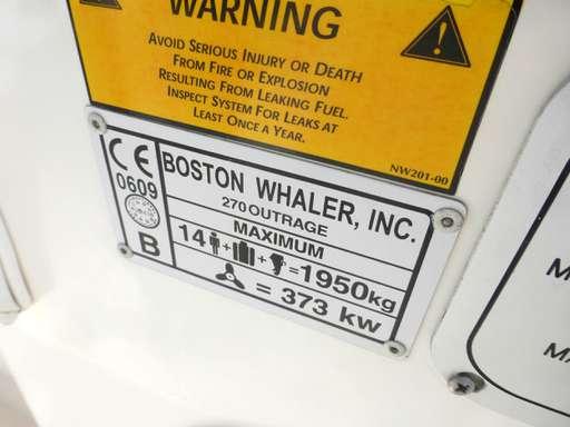 Boston whaler Boston whaler Outrage 270