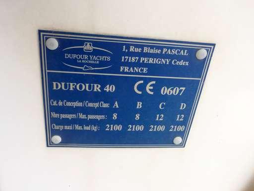Dufour Dufour 40