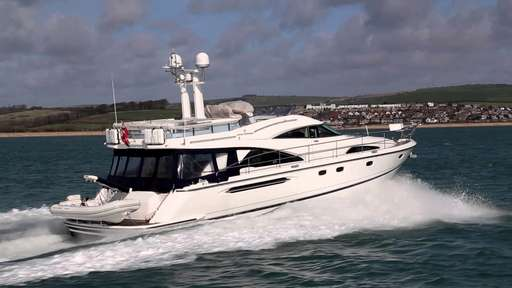 "Fairline Fairline Squadron 58"" fly"