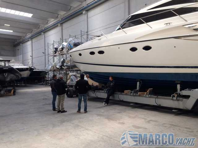 MARINE PROJECT Princess v 58 soft top